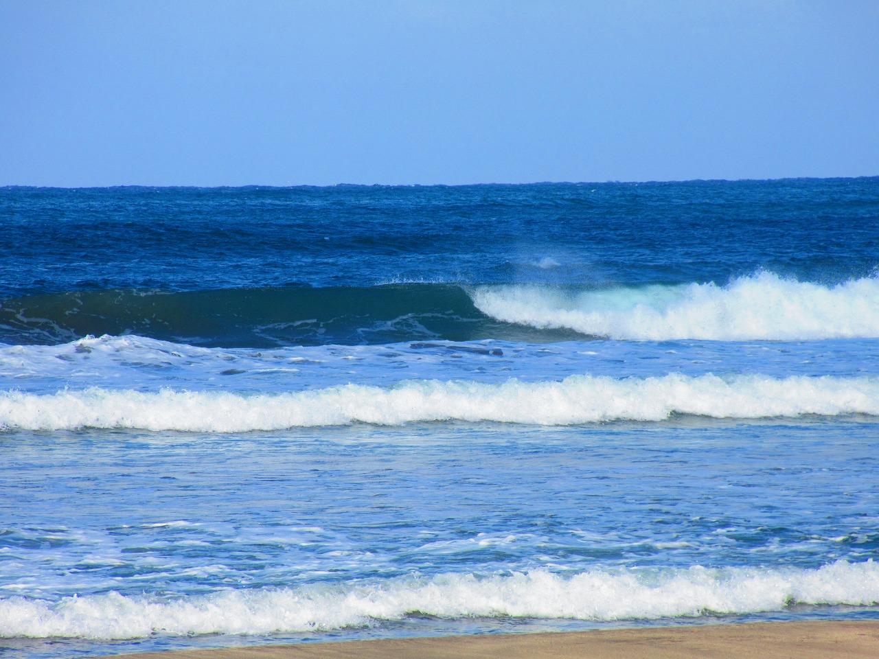 春の粟津海岸でSUPサーフィン|GWの水温はまだ低そう