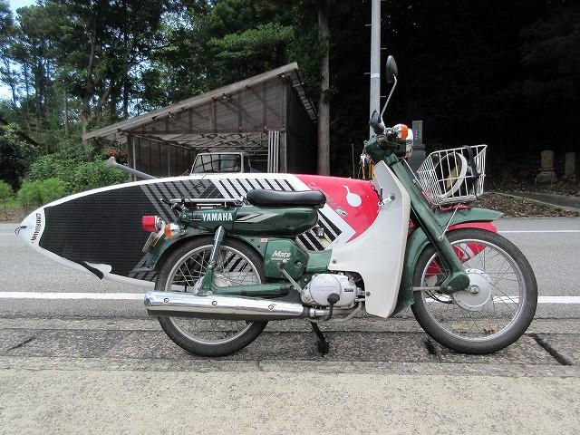 【サーファー向け】バイクのサーフボードキャリアを900円で自作する