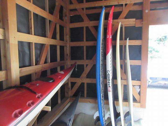 納屋改造|素人が納屋にサーフボードラックを作ってみた