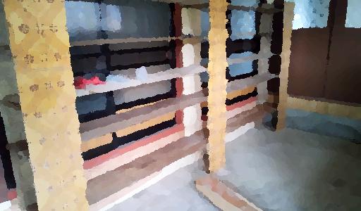 解体した床板は粗大ごみで捨てれない?|0円物件の使わなくなったキッチンを解体③