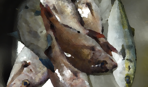 能登の田舎では新鮮な春の魚をたくさん貰える日がある
